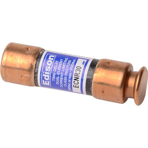 30 A Dual Element Time Delay Fuse - Class RK5, 250 V