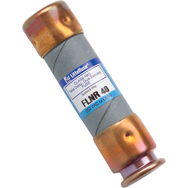 40 A Dual Element Time Delay Fuse - Class RK5, 250 V
