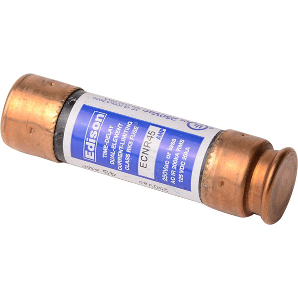 45 A Dual Element Time Delay Fuse - Class RK5, 250 V