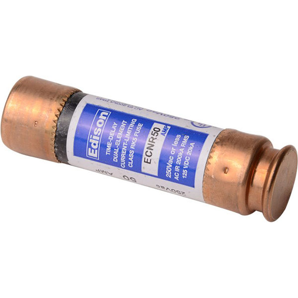 50 A Dual Element Time Delay Fuse - Class RK5, 250 V