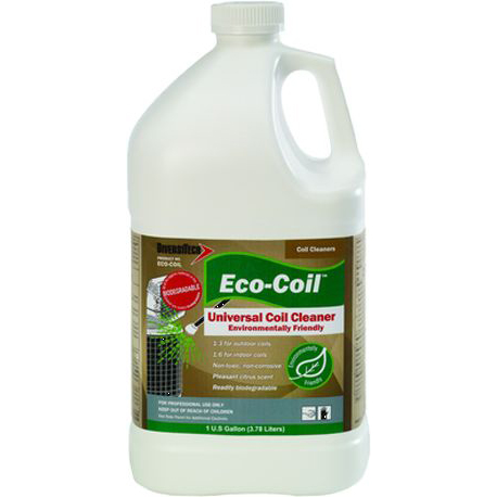 Liquid Refrigerant Coil Cleaner, Clear Pale