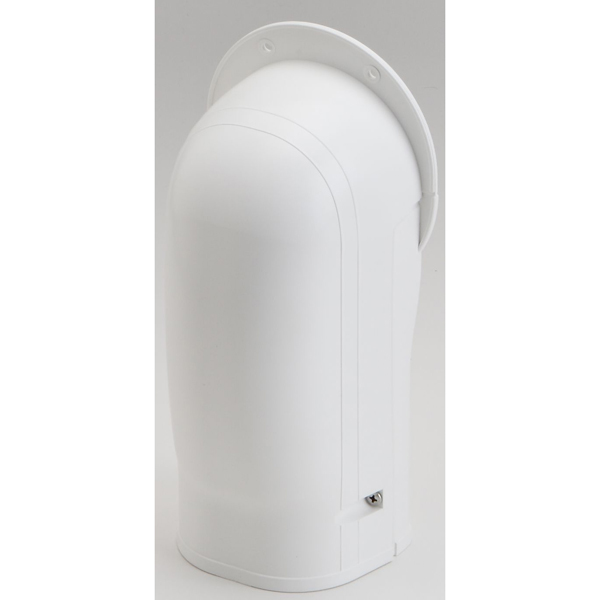 White Lineset Duct Wall Inlet
