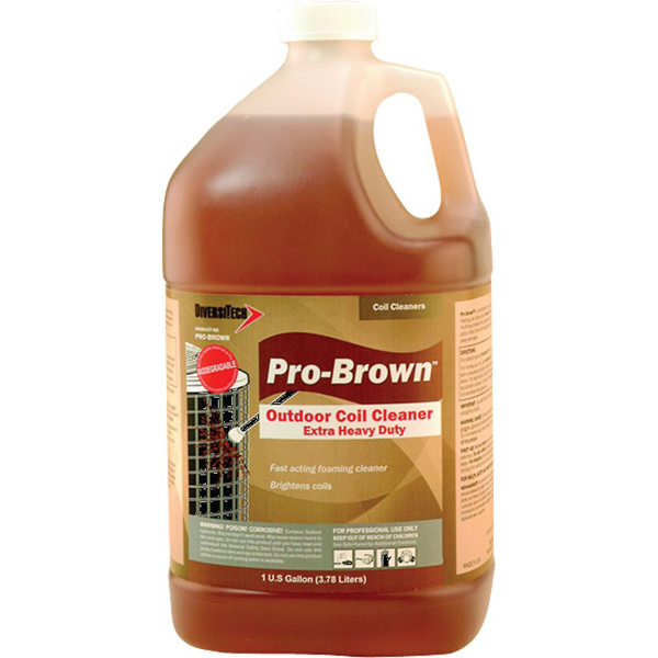 Coil Cleaner - Pro-Brown, 1 Gallon Can