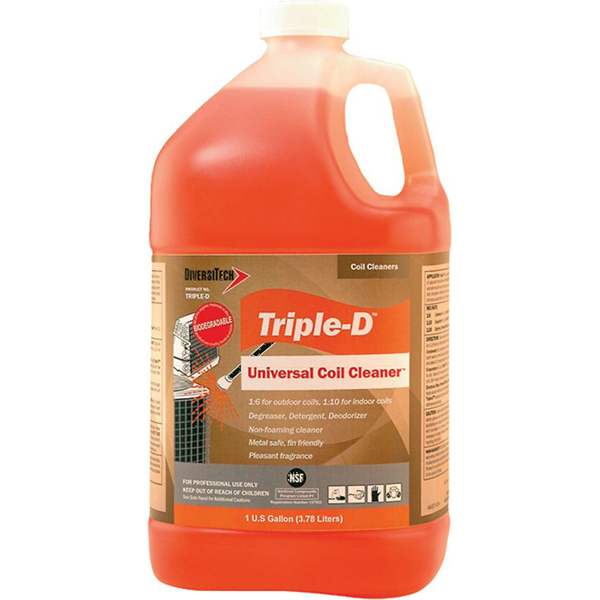 Coil Cleaner - Triple D, 1 Gallon Can