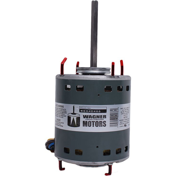 1/5 to 3/4 HP Furnace Blower Motor - 115 VAC, 1075 RPM, 4-Speed