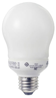 GE 49687 FLE11/2/A17XL2PK 2PACK 11W A17 SOFT WHITE COMPACT FLUORESCENT LAMP MEDIUM SCREW-IN BASE (1 PACK OF 2 LAMPS)
