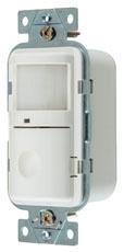 HUBW WS2000W WHITE PIR WALL SWITCH SENSOR NON-ADAPTIVE 1-BUTTON 120/277V