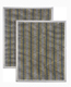 Broan BPSF30 Non-Ducted Filter Set For 30-Inch Allure 2-Pack