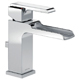 Delta 568LF-MPU Ara Single Handle Channel Lavatory Faucet - Metal pop-up