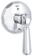 Grohe 19272000 Kensington 4 1/4 Inch Three Way Diverter with Lever Handle