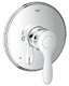 Grohe 19921000 Parkfield 7 1/4 Inch Pressure Balance Valve Trim Kit with Lever Handle