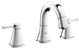 Grohe 20418EN0 Grandera 2-Handle Low Spout Bathroom Faucet