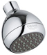 Grohe 28342-PAR Relax Plus 2.5 GPM Wall Mount Bathroom Non Adjustable Shower Head One Spray with Speed Clean Technology