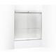 Kohler K-706004-L-SH Levity 1/4 Bath Door 62 X 59-5/8 Tb