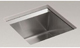 Kohler K-3671-NA 8 Degree Sgl Basin Entertainment Sink