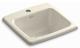 Kohler K-6015-1-47 Gimlet Self-Rimming Entertainment Sink, Almond