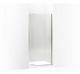 Kohler K-702010-L-BN Purist Frameless Pivot Shower Door, Vibrant Brushed Nickel