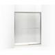 Kohler K-702206-L-MX Fluence Frameless Bypass Shower Door, Matte Nickel