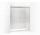 Kohler K-706015-L-ABV Levity Sliding Shower Door, 74