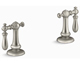Kohler K-98068-9M-BN Artifacts Bathroom Sink Swing Lever Handles