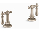 Kohler K-98068-9M-BV Artifacts Bathroom Sink Swing Lever Handles