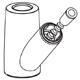 Moen 100152W  Spout Receptor Kit, Glacier