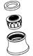 Moen 101964BN 2.2 Gpm Female Aerator - Brushed Nickel