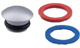 Moen 115034BC Handle Cap Kit, Brushed Chrome