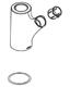 Moen 124823W  Spout Receptor For Single Handle Kitchen Faucet, Glacier