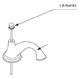 Moen 131092BN Lift Rod Kit - Brushed Nickel