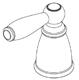 Moen 131097BN Manufacturer Replacement Part, Brushed Nickel