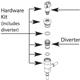 Moen 139968 Hardware Kit -