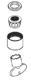 Moen 141008 Part Aerator And Retainer Kit, Chrome