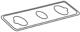 Moen 14949 Part Gasket, Eschutcheon Tc Single Handle Lavatory Can