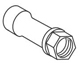 Moen 94146 Part Cartridge, Nut Chateau Two Handle Tub And Shower