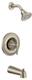 Moen T2133BN Eva Posi-Temp Tub And Shower Trim Kit Without Valve, Brushed Nickel