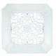 Panasonic APPA3TDB Fv-Gl3Tdb 14-1/2-Inch Abs Designer Vent Grille, White Finish
