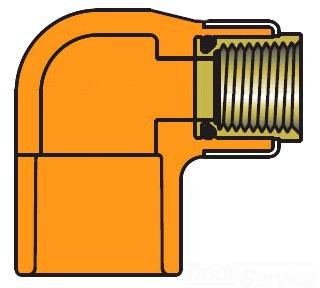 1 X 1/2 CPVC FIRE PROT 90 HD 4207-130