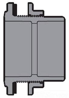 2 PVC TANK ADAPTER SXS 8170-020