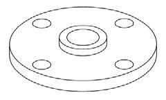 1 1/2 X 11 GALV CI COMP FLG - DOMESTIC