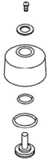 30253-CP Kohler Vacuum Breaker Repair Kit