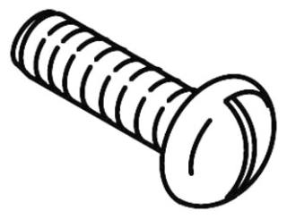 21102 Kohler Long Screw for Acrylic Handle