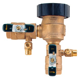 "Watts 800M4FR 1"" Pressure Backflow Preventer"