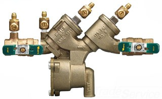 """Watts LF919-QT 1"""" RPZ Backflow Preventer with 1/4 Turn Valves *LEAD-FREE*"""