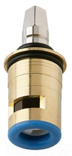 Chicago 1-099XKJKABNF Right Hand Ceramic Short Stem Cartridge (Cold)