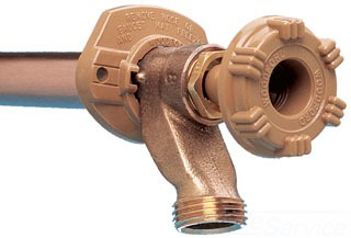 "12"" Freezeless Iron Pipe Thread Wall Hydrant"