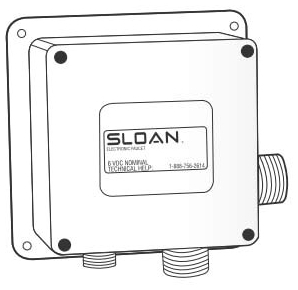 0362008 SLOAN SFP-8 CONTROL MODULE ** OLDER STYLE FURNISHED ON FAUCET  UNTIL AUG 2008 ****