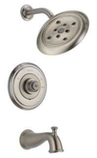 T14497-SSLHP Delta Stainless Cassidy Tub/Shower Trim without Handles
