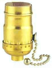 WES2202100 PULL CHAIN SHELL SOCKT BG (SP), WESTINGHOUSE LIGHTING