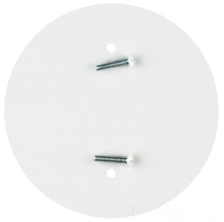 WEST 29452 WHT BLANK-UP PLATES 3.5in SPACING